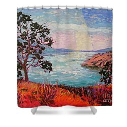 After Sunrise Shower Curtain