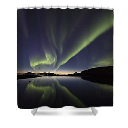 After Sunset I Shower Curtain