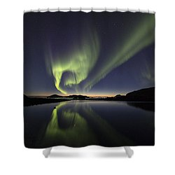 After Sunset II Shower Curtain