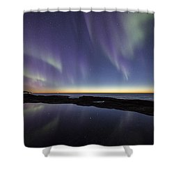 After Sunset Iv Shower Curtain