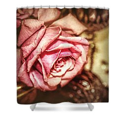 Shower Curtain featuring the photograph After The Ball by Wallaroo Images