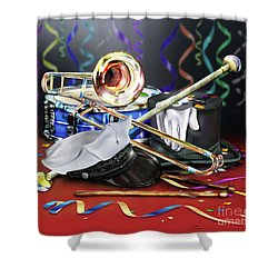 After The Music Shower Curtain