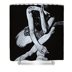 After The Performance Shower Curtain by Richard Young