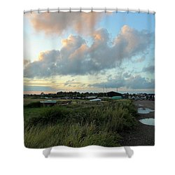 Shower Curtain featuring the photograph After The Rain by Anne Kotan