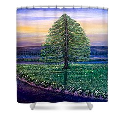 After The Rain Comes The Joy Shower Curtain