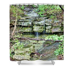 Shower Curtain featuring the photograph After The Rain by Cricket Hackmann