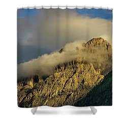 After The Rain In The Austrian Alps. Shower Curtain