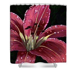After The Rain - Lily Shower Curtain