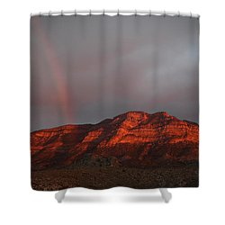 After The Rain Shower Curtain