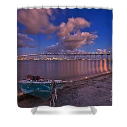 After The Rain Shower Curtain by Sam Antonio Photography