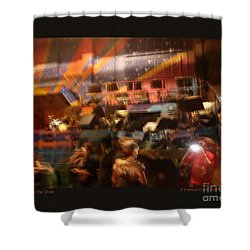 Shower Curtain featuring the photograph After The Show by Patricia Overmoyer