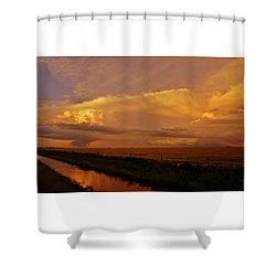 Shower Curtain featuring the photograph After The Storm by Ed Sweeney