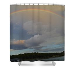 Shower Curtain featuring the photograph After The Storm by James McAdams