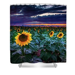 After The Storm Shower Curtain by John De Bord