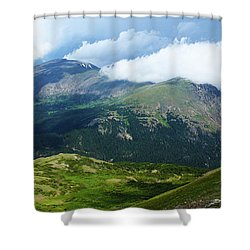 After The Storm Shower Curtain by Marie Leslie