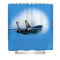 Afterburners Ablaze Shower Curtain