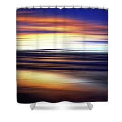 Shower Curtain featuring the photograph Afterglow by Kathi Mirto