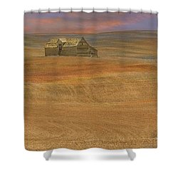 Afterglow On The Palouse Shower Curtain