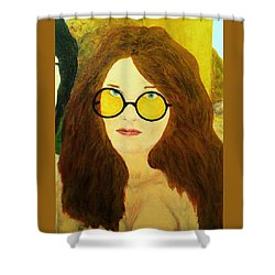 Afterlife Concerto Janis Joplin Shower Curtain
