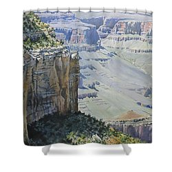 Afternoon At The Canyon Shower Curtain