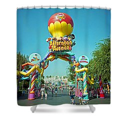 Afternoon Avenue Shower Curtain