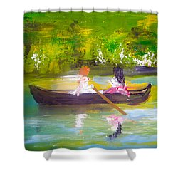 Afternoon By Colleen Ranney Shower Curtain