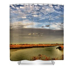 Afternoon De' Light Shower Curtain by Laura Ragland