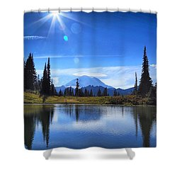 Afternoon Delight 2 Shower Curtain by Lynn Hopwood