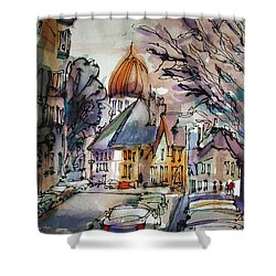 Afternoon Delight Shower Curtain