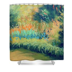 Afternoon Delight Shower Curtain by Lee Beuther