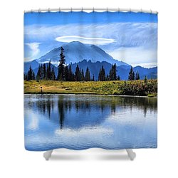 Shower Curtain featuring the photograph Afternoon Delight by Lynn Hopwood