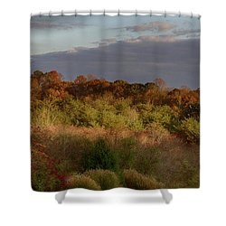 Afternoon Glow In Hocking Hills Shower Curtain