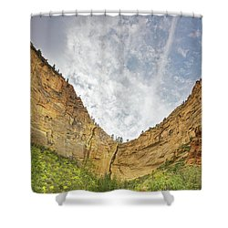 Afternoon In Boynton Canyon Shower Curtain