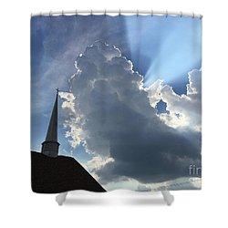 Afternoon Reminder Shower Curtain