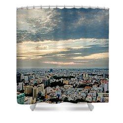 Afternoon Saigon Shower Curtain
