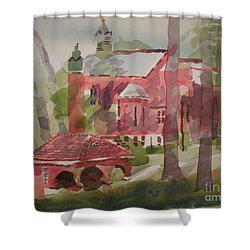 Afternoon Shadows W403 Shower Curtain by Kip DeVore