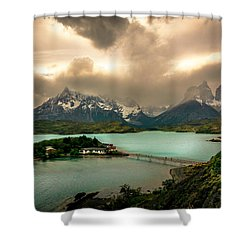 Afternoon Storm Shower Curtain by Andrew Matwijec