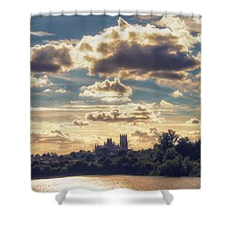 Afternoon Sun Shower Curtain