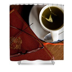 Shower Curtain featuring the photograph Afternoon Tea by Erin Kohlenberg