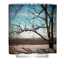 Afterr The Blizzard Shower Curtain