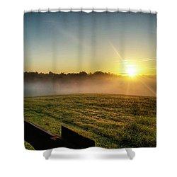 Afton Va Sunrise Shower Curtain
