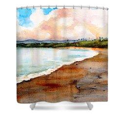 Aganoa Beach Savai'i Shower Curtain