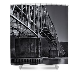 Agassiz-rosedale Bridge Shower Curtain