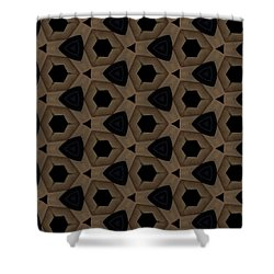 Agate Dimensions Shower Curtain