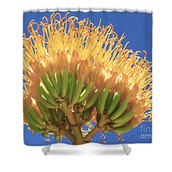 Agave Bloom Shower Curtain