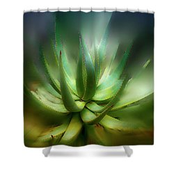 Agave Sunrise Shower Curtain