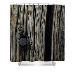 Aged Shower Curtain