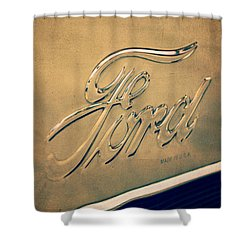 Aged To Perfection Shower Curtain by Caitlyn  Grasso
