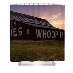 Aggie Sunset Shower Curtain