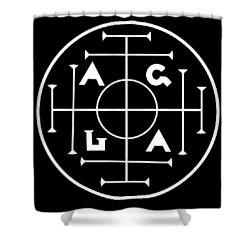 Agla Lucky Charm Shower Curtain